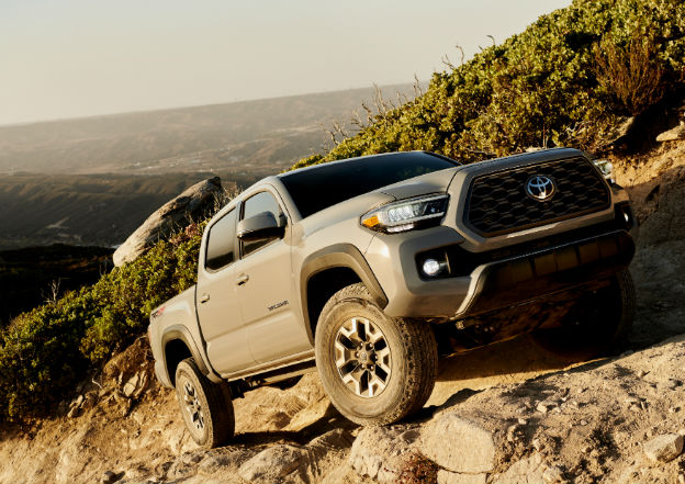 side view of a 2020 Toyota Tacoma