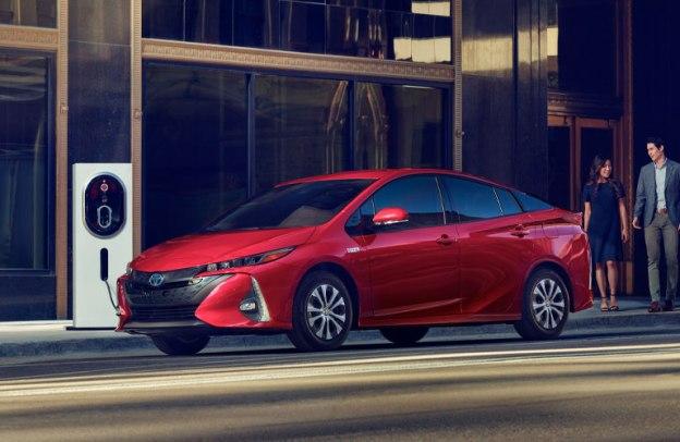 Toyota Prius Prime charging