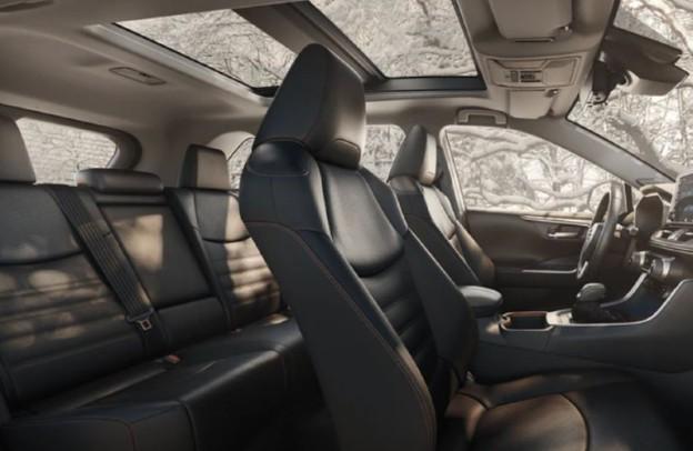 Seats inside 2021 Toyota RAV4