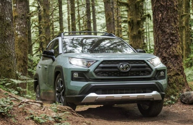 2021 Toyota RAV4 in the forest