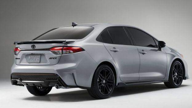 2021 Toyota Corolla rear quarter view